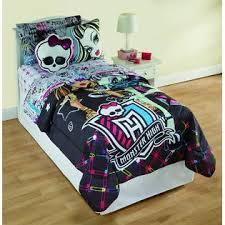 Monster High Bedroom Set by Monster High Twin Comforter Home Bed U0026 Bath Bedding Comforters