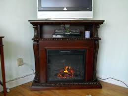 Southern Enterprises Redden Corner Electric Fireplace Tv by Corner Tv Stand With Electric Fireplace Southern Enterprises