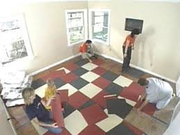 Peel And Stick Carpet Tiles Cheap by How To Install Carpet Tiles How Tos Diy