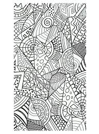 Free Coloring Page Harmonious Forms But Very Geometric Shapes