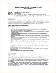 Sample Resume Certified Medical Coder Your Prospex Rh Yourprospex Com Billing Samples Biller
