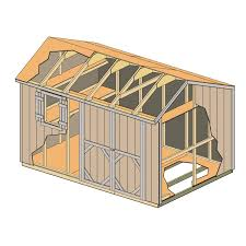 Shed Plans 8x12 Materials by Stratford 12ft X 8ft Heartland Industries