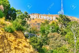 100 Angelos Landscape Los California USA September 05 2018 Inscription