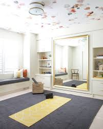Yoga Meditation Bedroom In One Murphy Bed Behind Mirror Credit Corea Sotropa