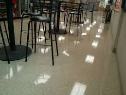 this vct tile floor in new brighton mn just needed a serious