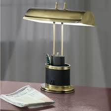 Bankers Lamp Shade Only the eyestrain reducing banker u0027s lamp hammacher schlemmer