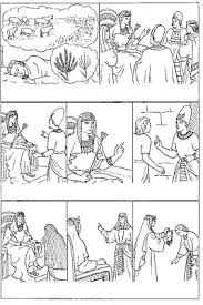 Joseph And His Brothers Bible Story Coloring Pages