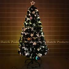 5ft Christmas Tree With Led Lights by Led Fibre Optic Christmas Tree Various Design Lightings Pre Lit