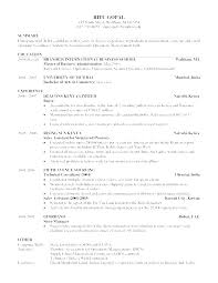 Sample Resume For Fresh Graduate Business Administration Without Experience Samples Best Human Resources Resumes Small Development