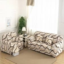 Stretch Slipcovers For Sofa by 1 2 3 4 Seat Plush Flexible Stretch Sofa Cover Big Elasticity
