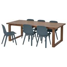 100 Oak Table 6 Chairs MRBYLNGA ODGER And Chairs IKEA