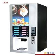 Automatic Coffee Machine Commercial Coin Tea Hot And Cold Type 5 Table Top Vending Machines Uk