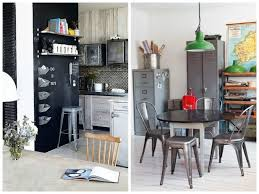 Industrial Chic Side Table Bedroom Furniture Designing An Kitchen Vintage Metal