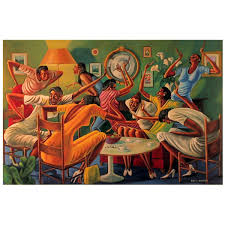 Ernie Barnes, Room Ful'A Sistahs, Offset Lithograph Ernie Barnes The Handoff Artist Signed Lithograph African American Honors 101 Identity In The Age Of Selfindulgence Dr Jason E Klodt Saving Art That Wealth Will Wash Away Animal Paae_igotrhythm_18artnews Buffalo Soldiers 1979 Museum Satomaa On Twitter Sugar Shack 1976 Lit Back To Black Cinema And Racial Imaginary New Dream Unfolds Pating Original Works Late Nfl Playturnedpainter Watercolor