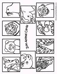 Coloring Animal Kaiser Animals Pages Zoo Page The