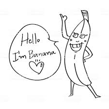 Coloriage Une Banane