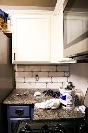 Subway Tile Backsplash For Kitchen How To Install A Subway Tile Backsplash Tips Tricks