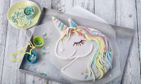 süßer einhornkuchen