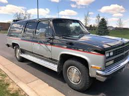 1989 Chevrolet Suburban For Sale | ClassicCars.com | CC-1002637 1989 Chevy S10 Blazer Is A Plan Blazer Beer Beverage Truck Used For Sale In Indiana Chevrolet Cheyenne 3500 Crew Cab Pickup Truck Cab And C Ck 1500 Questions It Would Be Teresting How Many Suburban R10 Biscayne Auto Sales Preowned R3500 1 Ton Dually Start Up Youtube 1993 Silverado Extended For Nsm Cars Classics On Autotrader 2500 Stock 138594 Sale Near Columbus Video Junkyard 53 Liter Ls Swap Into A 8898 Done Right