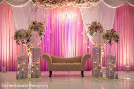 Indian Wedding Receptionindian Reception Floral And Decorindian Planning Design