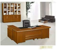 mobilier de bureau design haut de gamme moderne mélamine excutive bureau en bois table de bureau design avec