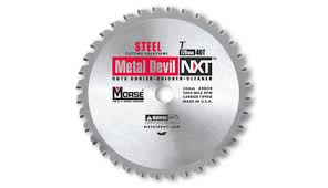 Mk Tile Saw Blades by Morse 101660 14 In X 80t Metal Devil Cutting Circular Saw Blade