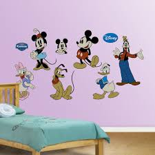 Mickey Mouse Bathroom Wall Decor by Mickey Mouse U0026 Friends Wall Decals By Fathead