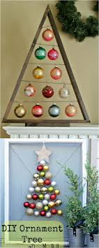DIY Ornament Christmas Tree Ideas