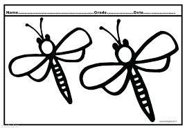 Dragonfly Coloring Pages Simple Free For Adults