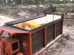 air burners inc air curtain burner destructor for wood waste