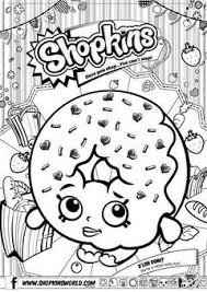 Coloring Pages Shopkins Getcoloringpages