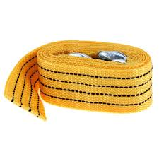 100 Tow Ropes For Trucks Emergency Strong Nylon Vehicle Strap With Hooks Ing