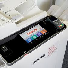 Self Service Printing Features At Staples