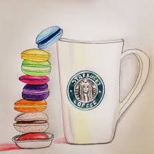 Starbucks Cup Drawing Coffee Cupredotaku98 On Deviantart
