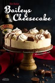 how to make a no bake baileys cheesecake