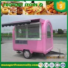 100 Hot Dog Food Truck 22m 25m 28m Length Optional Color Customized Hot Dog Food Cart