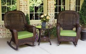 Sea Pines 3pc Rocker Set - Java Wicker