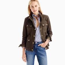 the downtown field jacket women u0027s coats u0026 jackets j crew