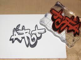 The Word Art In Graffiti Style Best