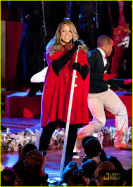 Rockefeller Christmas Tree Lighting Mariah Carey by Mariah Carey Christmas Tree Lighting With Snoopy Photo 2496984
