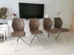 drehstuhl stühle esszimmer 4 stück neuwertig