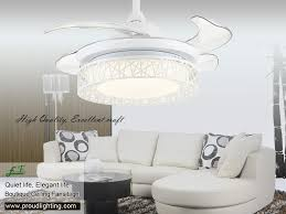 Retractable Blade Ceiling Fan by East Fan 42inch Retractable Blade Ceiling Fan Item Ef42246