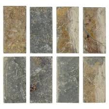 jeffrey court tumbled slate 3 in x 6 in x 8 mm floor and wall