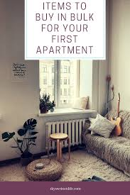 Items To Buy In Bulk For Your First Apartment