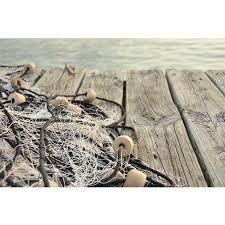 wandbild alu fischernetz am wohnaccessoires
