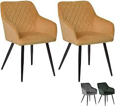 nimara carlo 2er set samt stuhl mit armlehne stühle mit armlehne sessel skandinavisches design armlehnstuhl esszimmerstühle für der esstisch