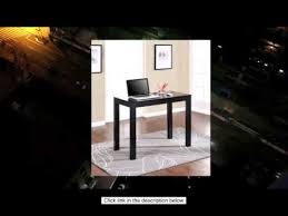 altra parsons desk with drawer black finish youtube