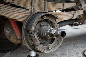 100 Hub Truck Maintenance Wheel And Bearing Stock Photo Picture And