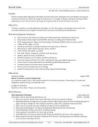 Sample Resume For Net Developer With 2 Year Experience Refrence
