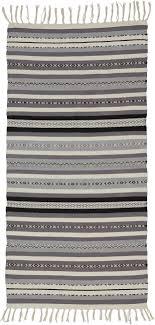 teppich in naturfarben grau ca 70x140cm india